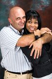 Interracial couple, Stock Images