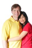 Interracial couple Stock Photography