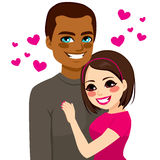 Interracial Couple Love Royalty Free Stock Photo