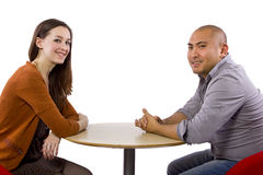 Interracial Date Stock Images