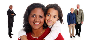 Interracial Family Royalty Free Stock Photo