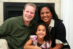 Interracial Family Royalty Free Stock Image