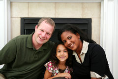 Interracial Family Stock Photo