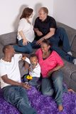 Interracial friends and family Stock Photography