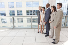 Interracial Men & Women Business Team Royalty Free Stock Photo