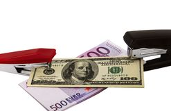 Interrelation Of Currencies Royalty Free Stock Image