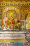 Interrior do santuário de Natha Devale Fotografia de Stock