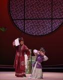 """Interrogación del  del oeste de Chamber†del """"the de Hong Niang-Kunqu Opera imagen de archivo"""