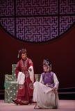 """Interrogación del  del oeste de Chamber†del """"the de Hong Niang-Kunqu Opera imagenes de archivo"""
