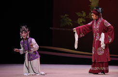 "Interrogating Hong Niang-Kunqu Opera ""the West Chamber"" Stock Photos"