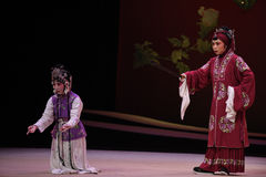 "During interrogation Hong Niang-Kunqu Opera ""the West Chamber"" Royalty Free Stock Photos"