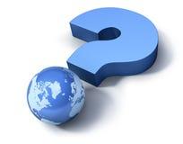 Interrogazione globale illustrazione di stock