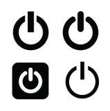 Interrompa le icone Immagine Stock Libera da Diritti