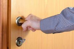 Interroom door Royalty Free Stock Image