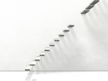 Interrupted stairs Stock Photography