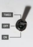 Interrupteur à bascule Photos libres de droits