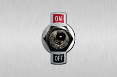 Interrupteur à bascule image libre de droits