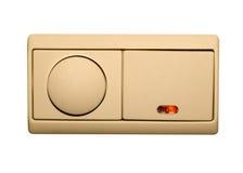 Interrupteur de lampe électrique Image libre de droits