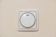Interrupteur de lampe en ivoire lumineux Image libre de droits