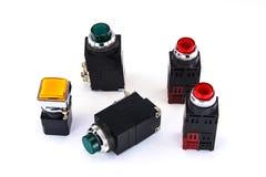 Interrupteur de lampe pilote Image libre de droits