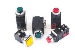 Interrupteur de lampe pilote Images stock
