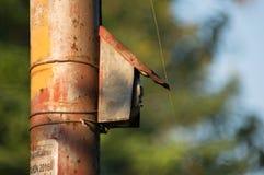 Interrupteur de lampe de rue images stock