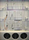 Interruptor 2 de las telecomunicaciones fotos de archivo