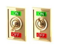 interruptor 3d ilustração stock