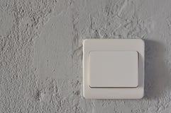 Interruptor blanco fotos de archivo