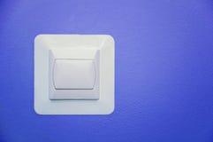 Interruptor branco foto de stock royalty free