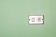 Interruptor con./desc. Imagenes de archivo