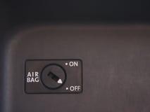 Interruptor da bolsa a ar foto de stock