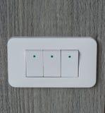Interruptor da Eletrônico-luz Imagens de Stock Royalty Free