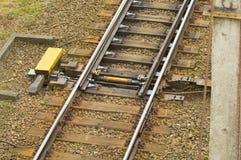 Interruptor da estrada de ferro Imagens de Stock Royalty Free