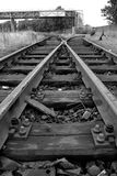 Interruptor da estrada de ferro na porta de Antuérpia Fotos de Stock