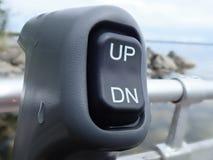 Interruptor da guarnição da inclinação foto de stock