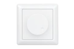 Interruptor da luz branco do redutor ilustração stock