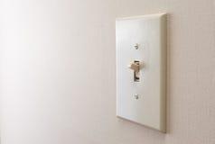 Interruptor da luz clássico fotos de stock