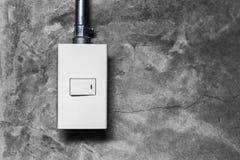 Interruptor da luz elétrico imagens de stock royalty free