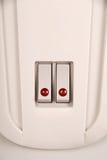 Interruptor de alavanca com diodo emissor de luz vermelho Imagem de Stock