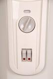 Interruptor de alavanca com diodo emissor de luz vermelho Imagem de Stock Royalty Free