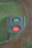Interruptor de alimentação fotografia de stock