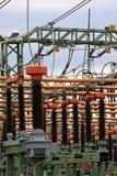 Interruptor de alto voltaje Imagen de archivo libre de regalías