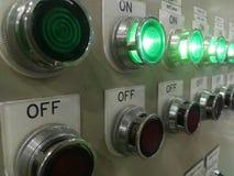 Interruptor de control Foto de archivo libre de regalías