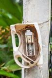 Interruptor de cuchillo electrónico Fotos de archivo