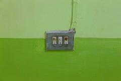 Interruptor de la Electrónico-luz Imagenes de archivo