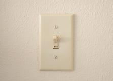 Interruptor de la luz Foto de archivo