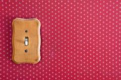 Interruptor de la luz eléctrico Imagen de archivo libre de regalías