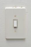 Interruptor de la luz eléctrico Foto de archivo libre de regalías