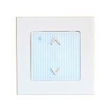 Interruptor de la luz eléctrico de la pared moderna Imagen de archivo libre de regalías
